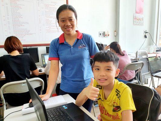 Trung tâm dạy tin học cho trẻ em ở Thanh Hóa